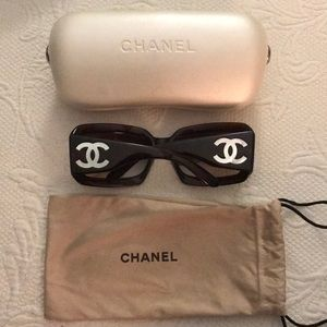 100% Authentic Chanel Mother of Pearl Sunglasses